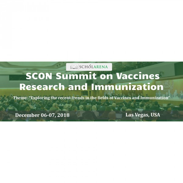 SCON Summit on Vaccines Research and Immunization