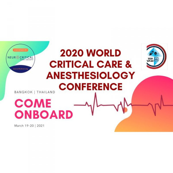 World Critical Care & Anesthesiology Conference 2021