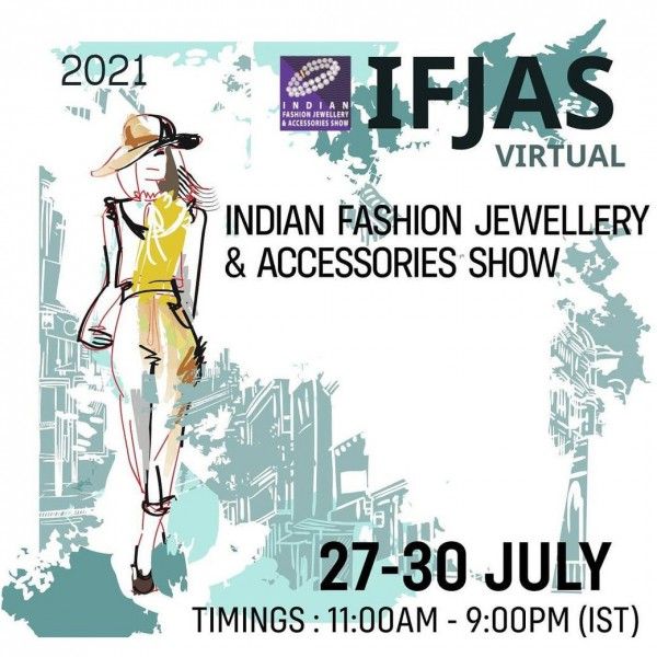 14th Indian Fashion Jewellery & Accessories Show (IFJAS) - 2021