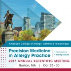 American College of Allergy, Asthma and Immunology Annual Scientific Meeting
