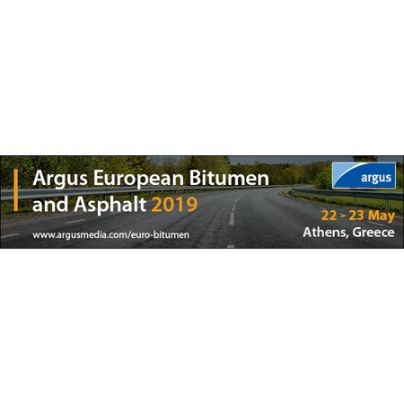Argus European Bitumen and Asphalt in Athens - May 2019