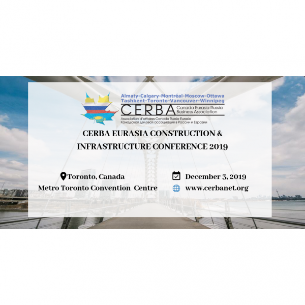 CERBA Eurasia Construction and Infrastructure Conference 2019